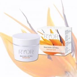 Denný krém s UV filtrami Koenzym Q10, 50ml Ryor
