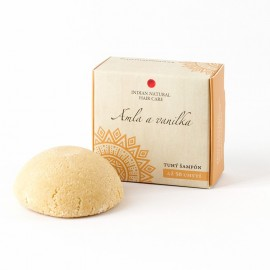 Amla a vanilka (tuhý šampón) 60g- Indian Natural Hair Care