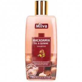 Šampón s makadámiovým olejom a chinínom 200ml - Milva