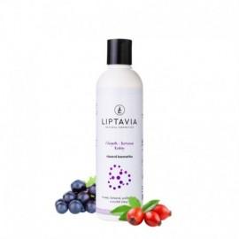 Chopok - Koruna Krásy- šampón pre hrubé farbené poškodené vlasy 200ml - Liptavia