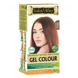 Gélová farba na vlasy s Hennou Stredná Medená Blond 8.4 - Indus Valley