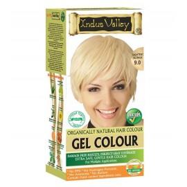 Gélová farba na vlasy s Hennou Blond 9.0 - Indus Valley