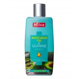 Šampón s extraktom chinínu a avokáda 200ml - Milva