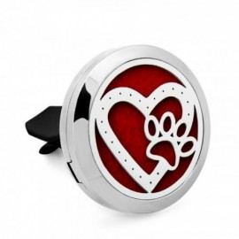 Aróma difúzer do auta - Srdce s labkou - Ťuli a Ťuli