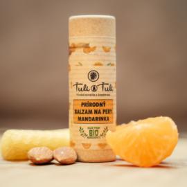 Prírodný balzam na pery Mandarinka 20ml - Ťuli a Ťuli