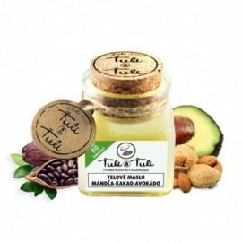 Prírodné telové maslo kakao-mandľa-avokádo 100ml - Ťuli a Ťuli