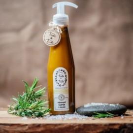 Prírodný šampón 5 olejov Rozmarín-Citrónová tráva 250ml - Ťuli a Ťuli