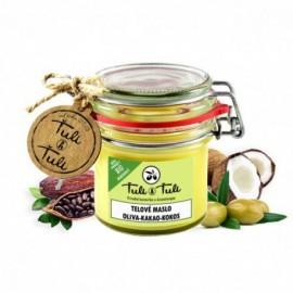 Prírodné telové maslo oliva-kakao-kokos 85ml - Ťuli a Ťuli