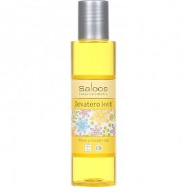 Deväť kvetov BIO telový masážny olej 50ml - Saloos
