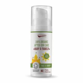 Detský organický olej po opaľovaní Baby & Family 50ml - WoodenSpoon