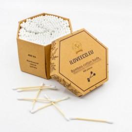 Bambusové vatové tyčinky 400ks - I Love Eco