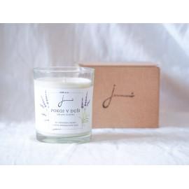 Sójová sviečka Pokoj v duši 150g - Jemnô