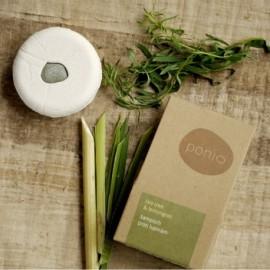 Tuhý šampón (šampúch) Tea tree & lemongras proti lupinám 60g - Ponio