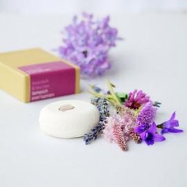 Tuhý šampón (šampúch) Levanduľa & tea tree proti lupinám 60g - Ponio