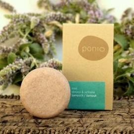 Tuhý šampón (šampúch) Mint obnova & ochrana 60g - Ponio