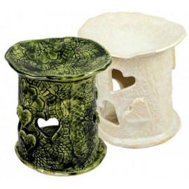 Keramická arómalampa - Zelená - Ťuli a Ťuli