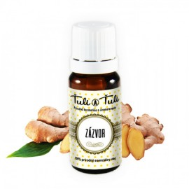 Zázvor prírodný esenciálny olej 10ml - Ťuli a Ťuli