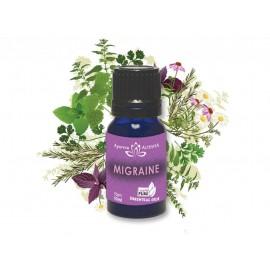Zmes esenciálnych olejov proti migréne 10ml - Altevita