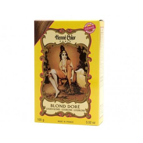 Blond Doré Henna Powder, Henné Color 100g - Blond zlatá